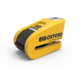 Oxford XA14 Alarm Schijfremslot ART 4 - Geel