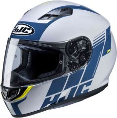 HJC CS-15 Mylo - Mat Wit / Blauw