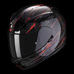 Scorpion EXO 390 Beat - Zwart / Neon Rood