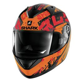Shark Ridill Kengal - Mat Zwart / Oranje / Rood