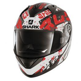 Shark Ridill Kengal - Mat Zwart / Wit / Rood
