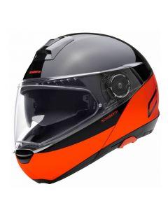 Schuberth C4 Pro Swipe - Oranje / Zwart