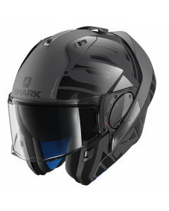Shark Evo-One 2 Lithion Dual - Zwart / Antraciet