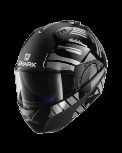Shark Evo-One 2 Lithion Dual - Zwart / Chrome / Antraciet