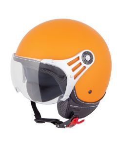 Vinz Fashionhelm Oranje Mat