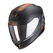 Scorpion EXO-520 Air Laten - Mat Zwart / Oranje